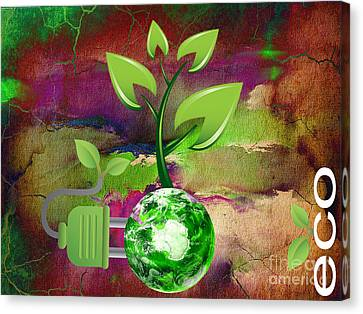eco Canvas Print by Marvin Blaine