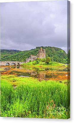 Eilean Donan Castle Canvas Print by Patricia Hofmeester