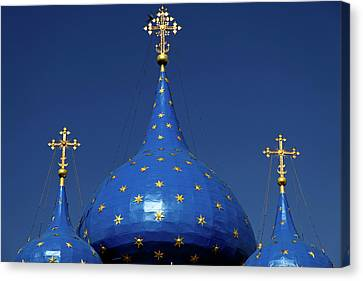 Nativity Canvas Print - Europe, Russia, Suzdal by Kymri Wilt