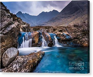 Fairy Pools Canvas Print
