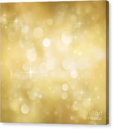 Festive Bokeh Background Canvas Print