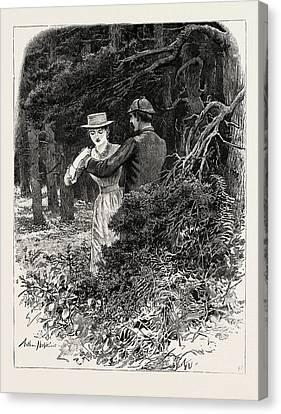 Londoners Canvas Print - First Person Singular by Hopkins, Arthur (1848-1930), English