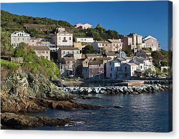 France, Corsica, Le Cap Corse Canvas Print by Walter Bibikow