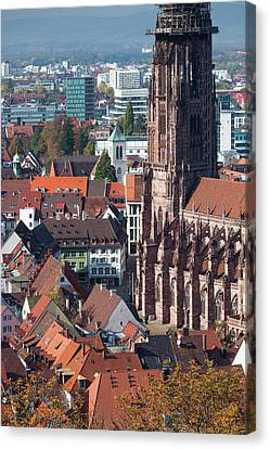 Germany, Baden-wurttemberg, Black Canvas Print