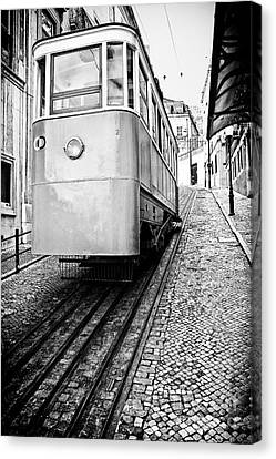 Gloria Funicular Canvas Print by Jose Elias - Sofia Pereira