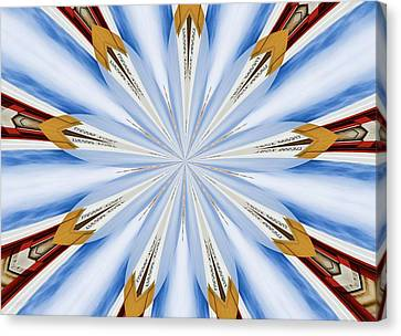 Graffiti - Galaxee Kaleidoscope Canvas Print