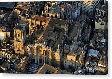 Cities Canvas Print - Granada Cathedral by Guido Montanes Castillo