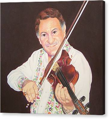Gypsy Fiddler Canvas Print by Constance Drescher