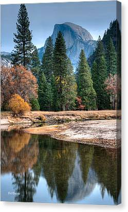 Half Dome Canvas Print by Bill Roberts