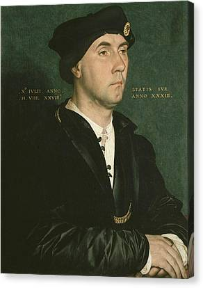 Holbein, Hans, The Younger 1497-1547 Canvas Print by Everett
