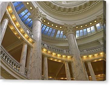 Idaho State Capitol, Boise, Idaho, Usa Canvas Print