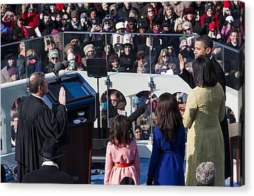 Inauguration Canvas Print by JP Tripp