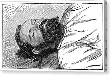 Jesse James (1847-1882) Canvas Print by Granger