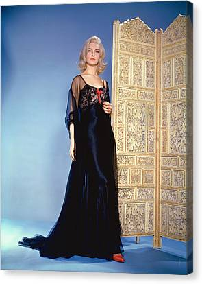 Joanne Woodward Canvas Print by Silver Screen