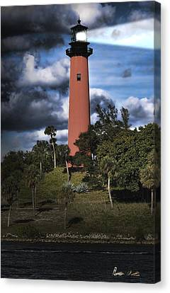 Guides Canvas Print - Jupiter Lighthouse by Rudy Umans