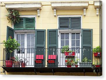 La, New Orleans, French Quarter Canvas Print by Jamie and Judy Wild