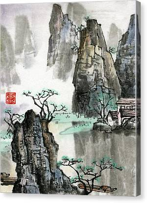 Landscape Canvas Print by Ping Yan