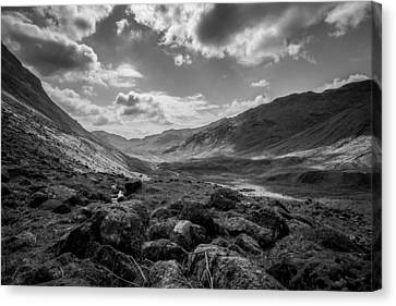 Mike Taylor Canvas Print - Langdale by Mike Taylor