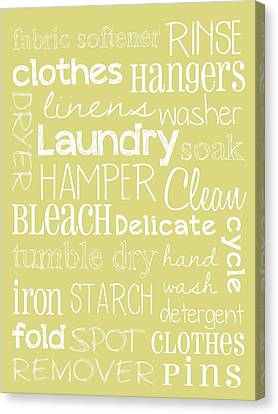 Laundry Room Canvas Print by Jaime Friedman