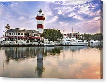 Lighthouse On Hilton Head Island Canvas Print