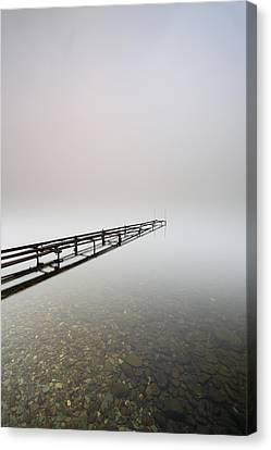 Loch Lomond Jetty Canvas Print