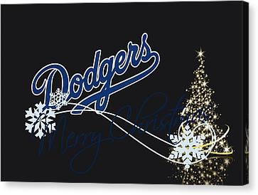 Los Angeles Dodgers Canvas Print by Joe Hamilton
