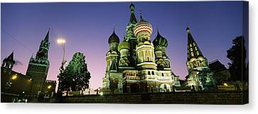 Low Angle View Of A Cathedral, St Canvas Print by Panoramic Images