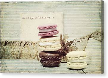 Surprise Canvas Print - Merry Christmas by Heike Hultsch