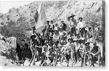 Mexican Revolution, 1911 Canvas Print by Granger