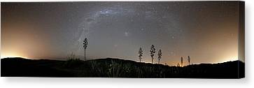Milky Way Canvas Print by Luis Argerich