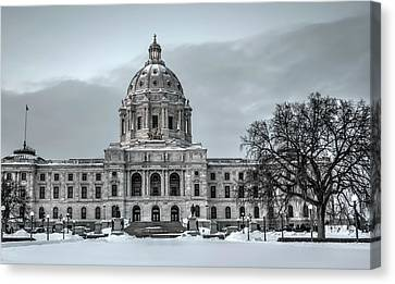 Minnesota State Capitol St Paul Canvas Print