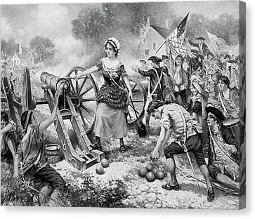 Molly Pitcher (1754?-1832) Canvas Print