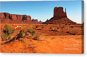 Monument Valley  Canvas Print by Jane Rix