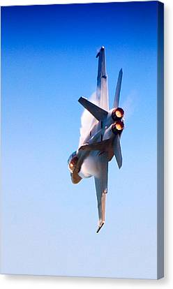 Navy F-18 Super Hornet Canvas Print by Celso Diniz