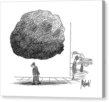 New Yorker October 12th, 1992 Canvas Print