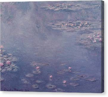 Nympheas Canvas Print by Claude Monet