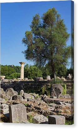 Olympia, Greece Canvas Print by Ken Welsh