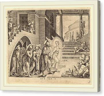 Philip Galle After Maerten Van Heemskerck Flemish Canvas Print by Litz Collection