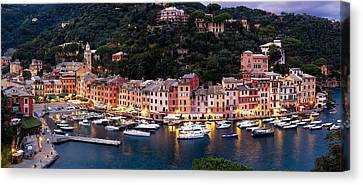 Canvas Print featuring the photograph Portofino Italy by Carl Amoth