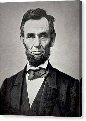 Abraham Canvas Print - President Abraham Lincoln by Retro Images Archive