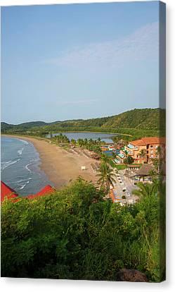 Serena Canvas Print - Punta Serena Villas And Spa by Douglas Peebles