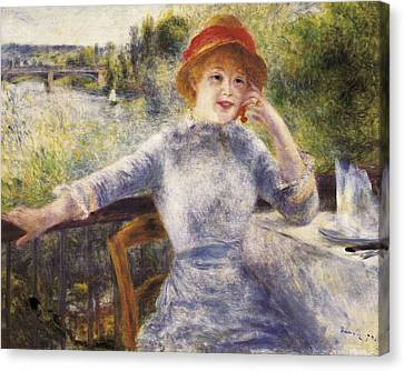 Renoir, Pierre-auguste 1841-1919 Canvas Print by Everett