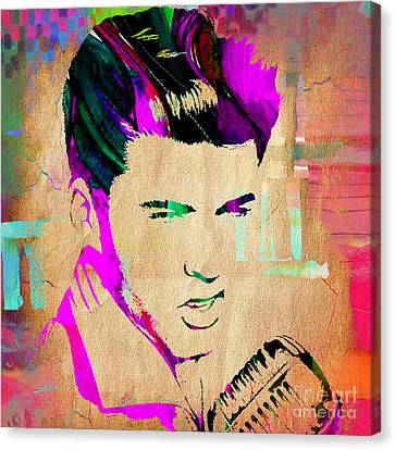 Ricky Nelson Collection Canvas Print