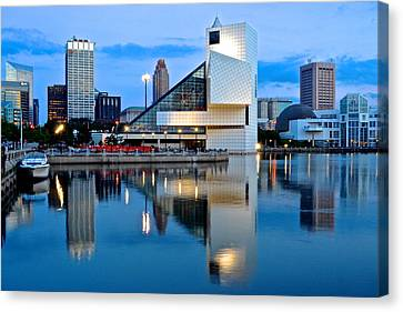 Rock And Roll Hall Of Fame Canvas Print
