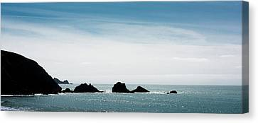 Rock Formations In The Pacific Ocean Canvas Print by Panoramic Images