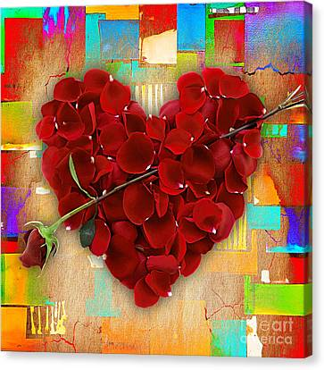 Roses Collection Canvas Print by Marvin Blaine