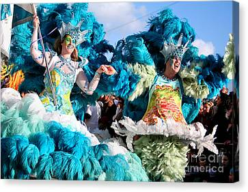 Samba Carnival Joy Canvas Print by Jose Elias - Sofia Pereira
