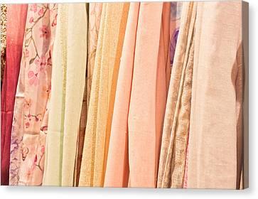 Bandana Canvas Print - Scarves by Tom Gowanlock