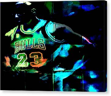 Canvas Print featuring the digital art 5 Seconds Left by Brian Reaves