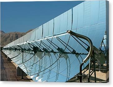 Solar Power Plant Canvas Print by Jim West